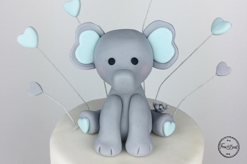 Elefant Tutorial Frau Fon Dant