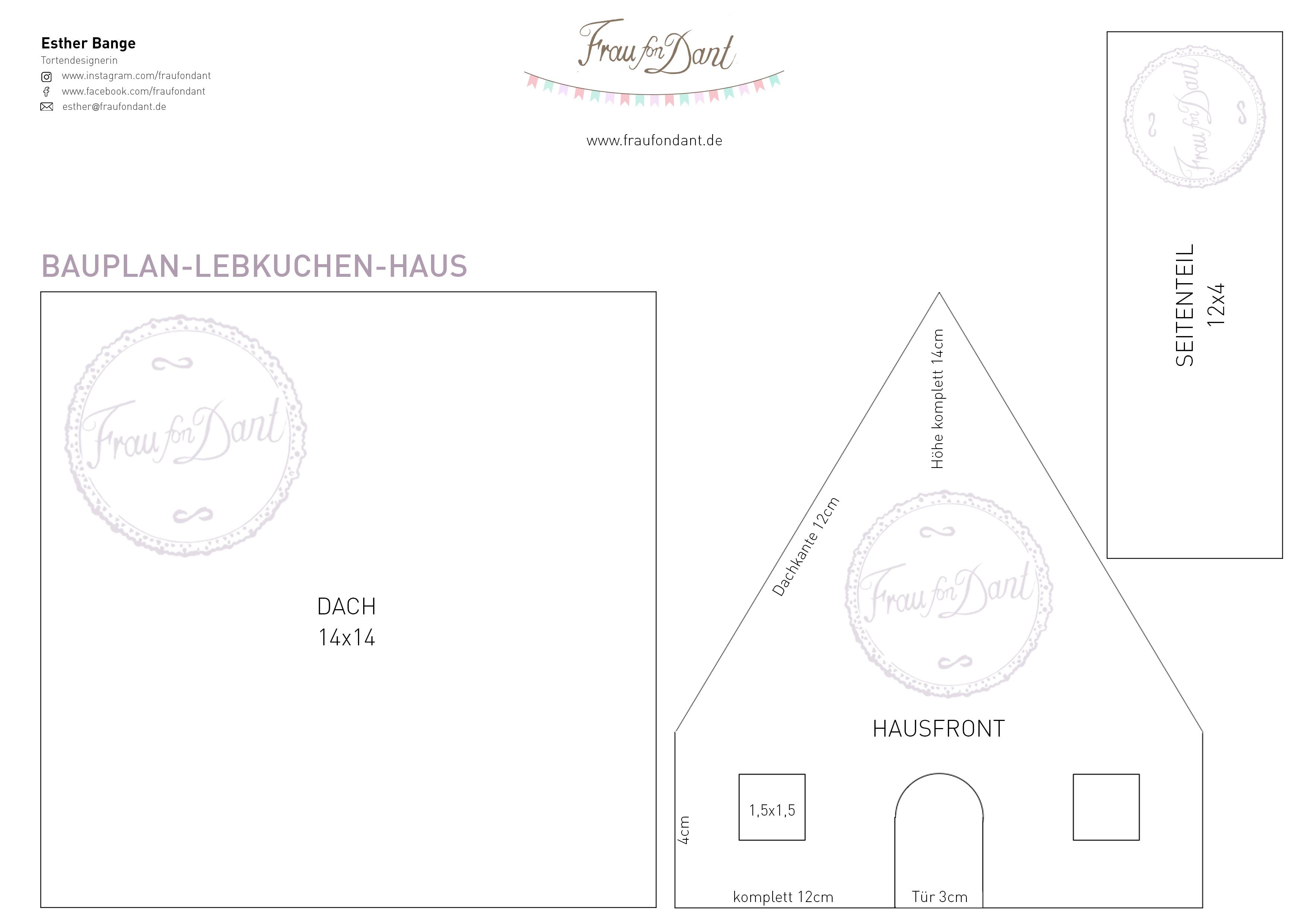 Ausgezeichnet Vorlage Lebkuchenhaus Bilder - Entry Level Resume ...