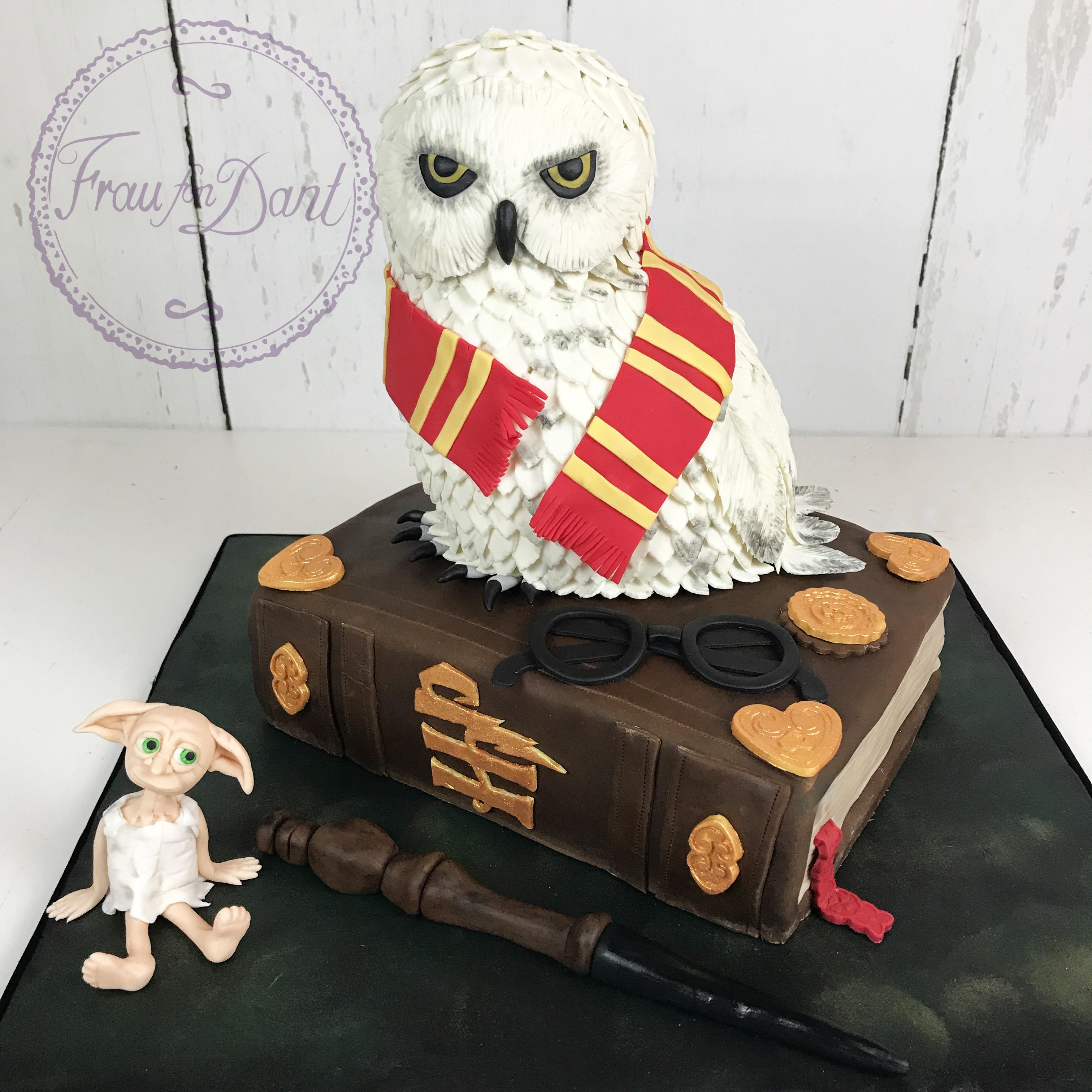 Harry Potter Torte Frau Fon Dant